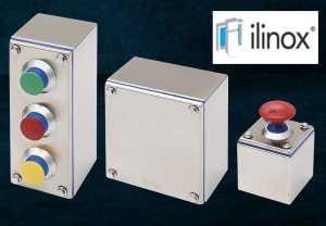 Edelstahl Tastergehäuse von ILINOX bei Falk GmbH