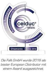 Die Falk GmbH Technical Systems aus Deutschland, als größter Celduc-Distributor in Europa