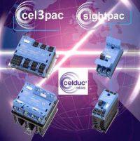 dreiphasigen Halbleiterrelais der Serie cel3pac und sightpac von Celduc bei Falk GmbH